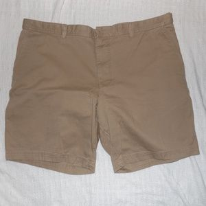 Izod Saltwater Tan Shorts Men 48